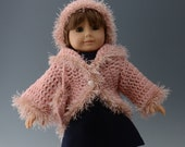 Item 14 -  American Girl Hat, Sweater and Purse in Pink