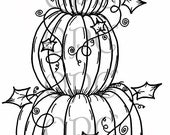 Digital Stamp Pumpkins