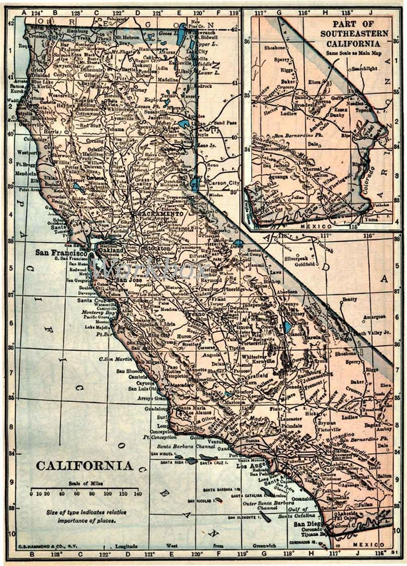 California Map Digital Download For High Resolution Printing - Germany map high resolution download
