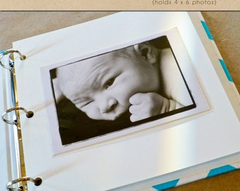 Clear Photo Sleeves - Include in your Two Giggles Baby Album