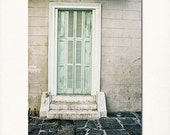New Orleans Door Art Photography - french quarter picture travel - home decor wall art - holiday gift for her  - 8x10 print.