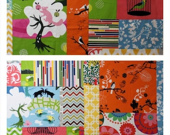 Super Size Custom Baby Patchwork Playmat. Double Padded Washable Floor Quilt.