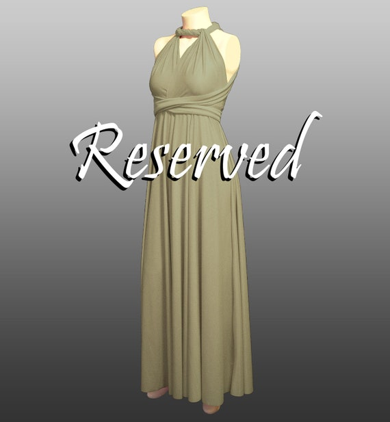 RESERVED for Ashlyn -- bandeaus & extras for bridesmaids dresses
