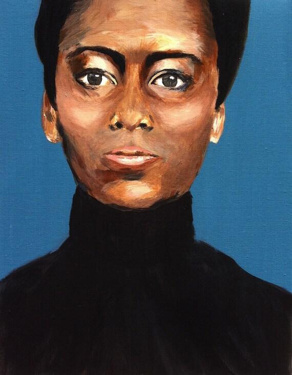 Portrait of a woman 14x18 ORIGINAL PAINTING