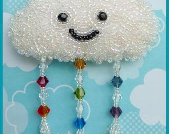 Happy Cloud Brooch