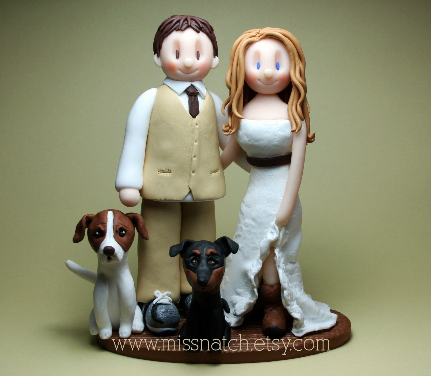 DEPOSIT Country Barn Outdoor Rustic Wedding Cake Topper