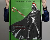 Star Wars Holiday Special Poster - Darth Vader & his Candy Saber
