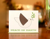 Peace, Dove & Understanding - Set of 10 New Year's Cards on 100% Recycled Paper