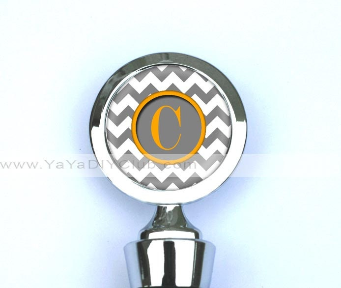 Personalized Wine Stopper Wine Bottle Stopper by yayadiyclub