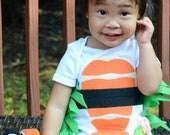 Shrimp Sushi Onesie Childrens Costume Sushi Baby Costume, Baby Halloween Costume, Sushi Costume, Funny Baby Costume, Baby Geekery