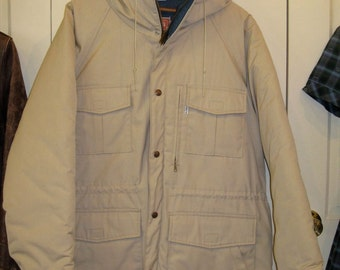 Deadstock 1980's Levi's Winter Hoody 65/35 Mountain Parka size Large NOS