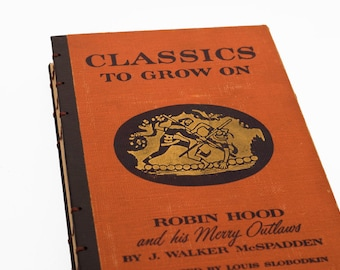 1946 CLASSICS to GROW ON Vintage Notebook Journal