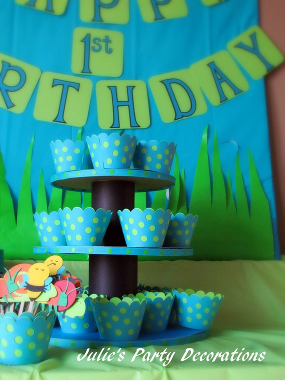 12 Polkadot Cupcake Wrappers mizznawti22