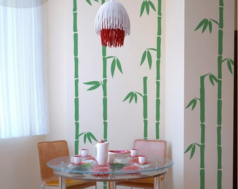 Tall Bamboo - Vinyl Wall Decal