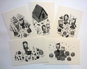 Wicked Anabella Set of Five Postcards