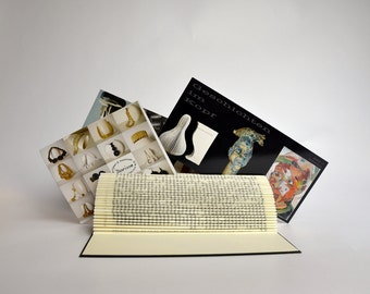 Foto and card holder - folded Book