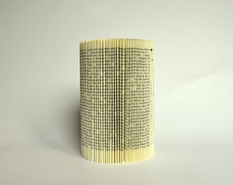 Altered folded Book - Cylinder