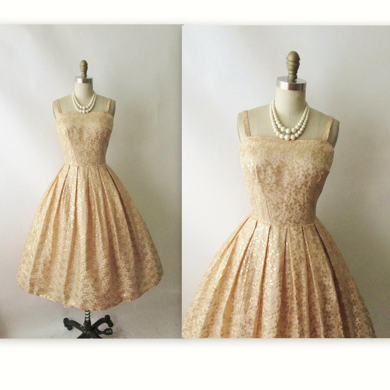 Vintage Gold Dresses 42