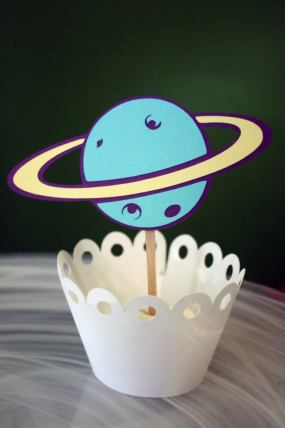 planets cake toppers-#12