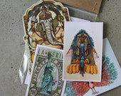 Sticker Pack - Dope Deities