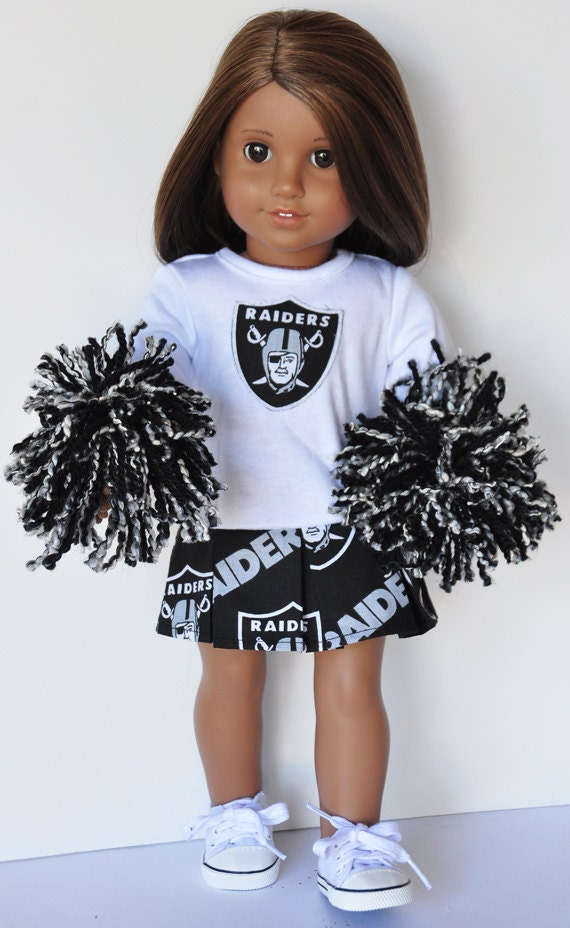American Girl Clothes Oakland Raiders By Lorilizgirlsanddolls
