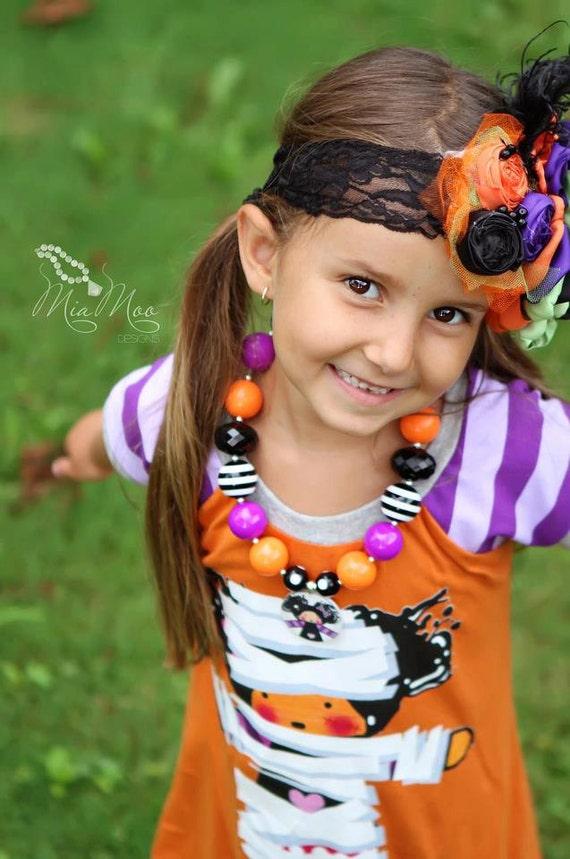 HOCUS POCUS Halloween Flower Headband