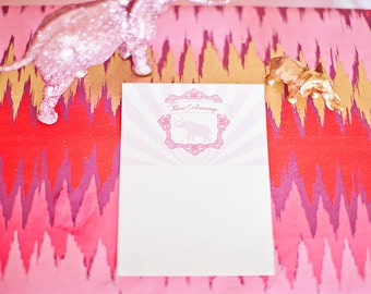 DIY Printable Thank You Card - Cirque du Bebe Elephant Baby Shower
