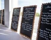 Vineyard Wedding Wine Cork Chalkboard / Wedding Seating Chart