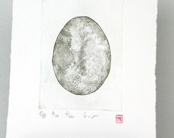 Egg - Original Etching
