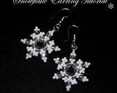 Snowflake Earring Tutorial