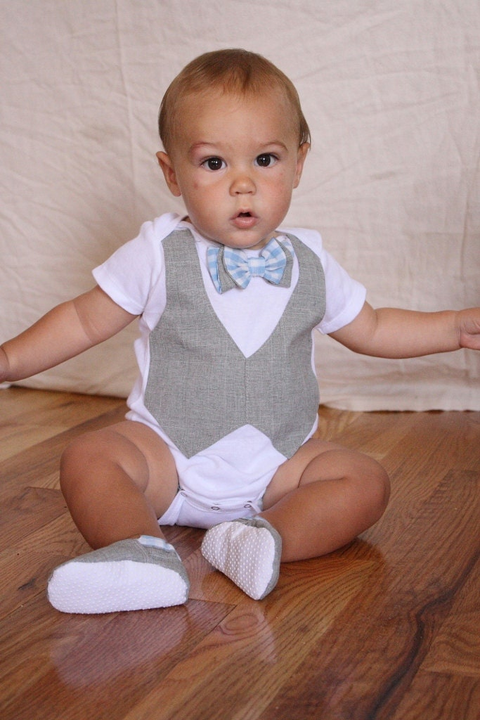 baby boy shirt bow tie shirt baby boy photo prop blue and ForBaby Shirt And Bow Tie