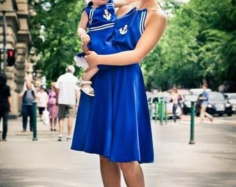 Royal Blue Anchor dress