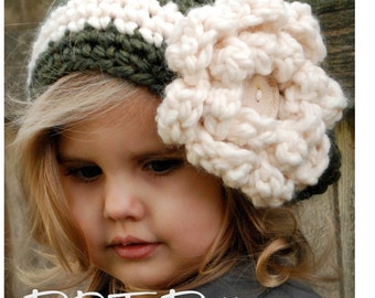 Crochet PATTERN-The Dailynn Slouchy (pattern includes sizes for: toddler, child, and adult)
