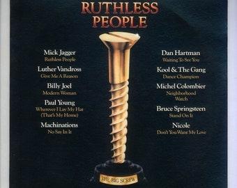 Ruthless People Soundtrack 1986 VIntage Vinyl Record Album Epic LP, Mick Jagger, Luther Vandross, Billy Joel, Bruce Springsteen