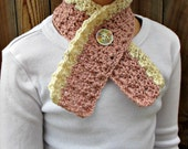Vintage Inspired Crochet Scarf Pattern Child Size