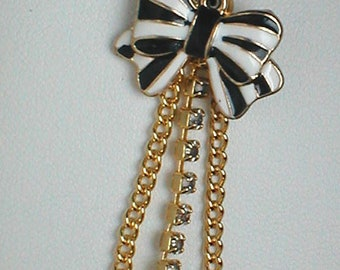 Unique Belly Ring - Black High Heel and Bow