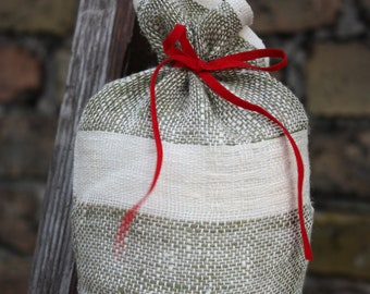 Linen Gift Bag - Small Size