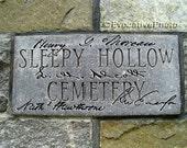 Sleepy Hollow Cemetery 8x10 Kodak Endura Art Print Emerson Thoreau Alcott Hawthorne Authors Ridge Concord MA