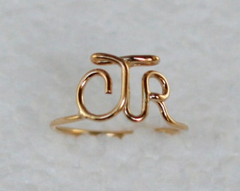 "Original  ""CTR"" Ring 14k Gold Filled"