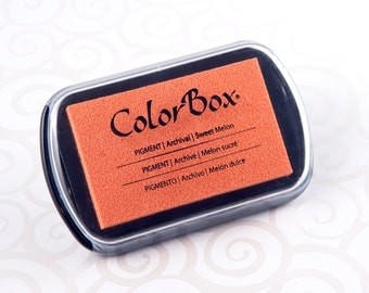 Colorbox Pigment Ink Pad (Full Size) - Sweet Melon