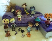 custom made for you mini lalaloopsy disney fairy tale tv movie video game book art doll monster high story comic book dr. who firefly etc