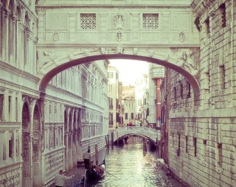 Venice Photography - The Bridge of Sighs - Venice,Italy - fine art photography