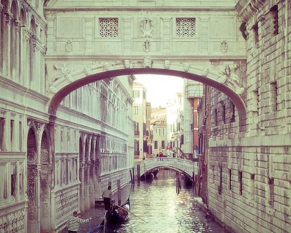 Venice Photography - The Bridge of Sighs - Venice,Italy - fine art photography