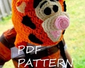 Tiger Hat Pattern - Crochet Tutorial