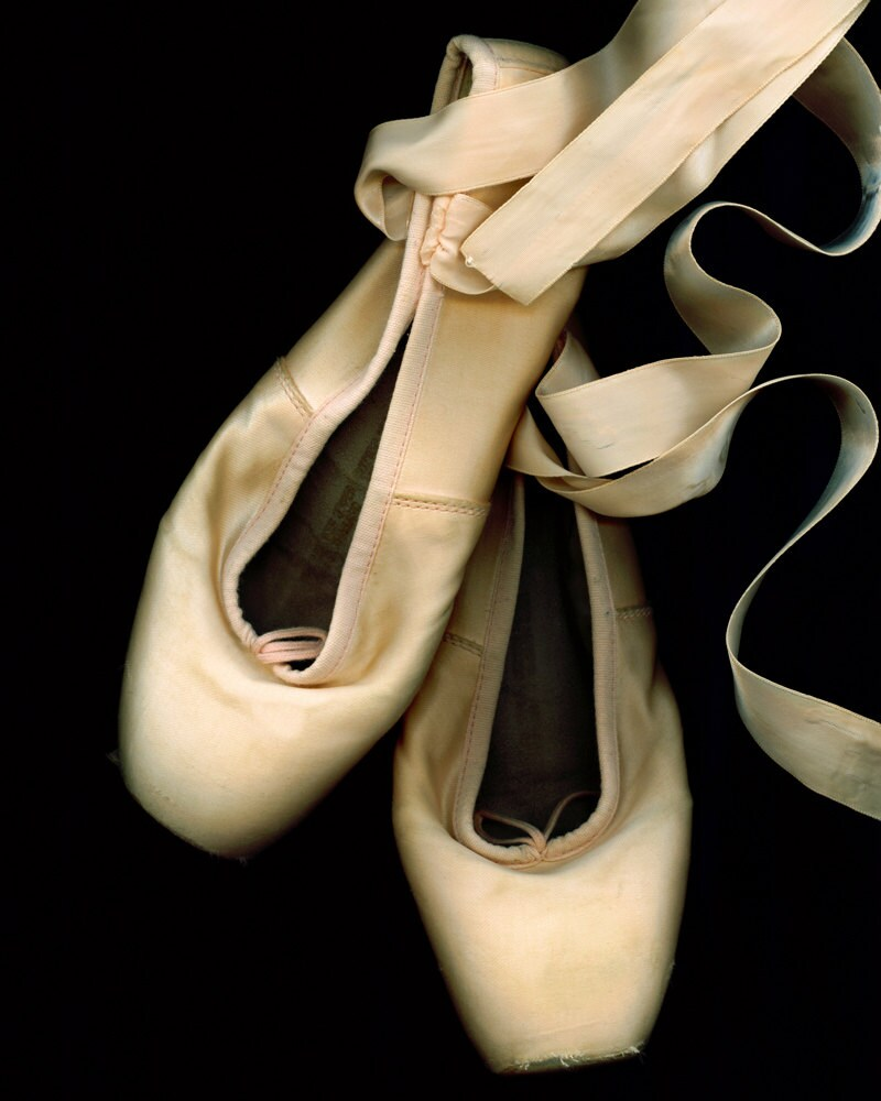 the gallery for gt worn out ballet shoes photography