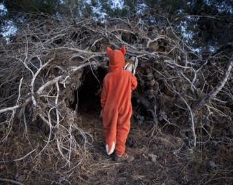 Halloween Fox costume/ Toddler Costume/ Kids Costume/ Baby Costume/ Halloween Costumes For children/ fox dress up/ handmade costume