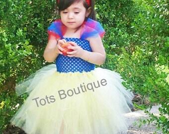 Infant- Snow White Princess Tutu Dress Inspired