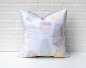 Throw Pillow  - Original Textile Design - Free Bird - CLEARANCE