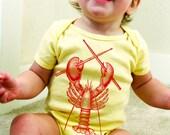 Rock Lobster Baby Onesie