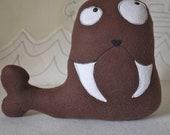 Mr. Walrus-stuffed walrus